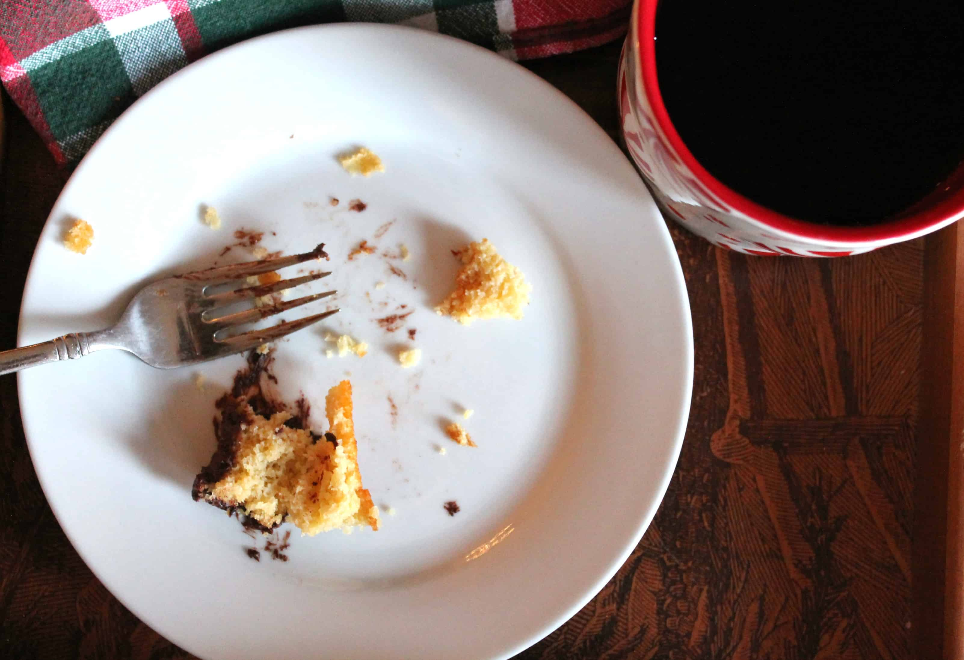 Vanilla Cake with Chocolate Espresso Frosting (Gluten Free | Paleo)