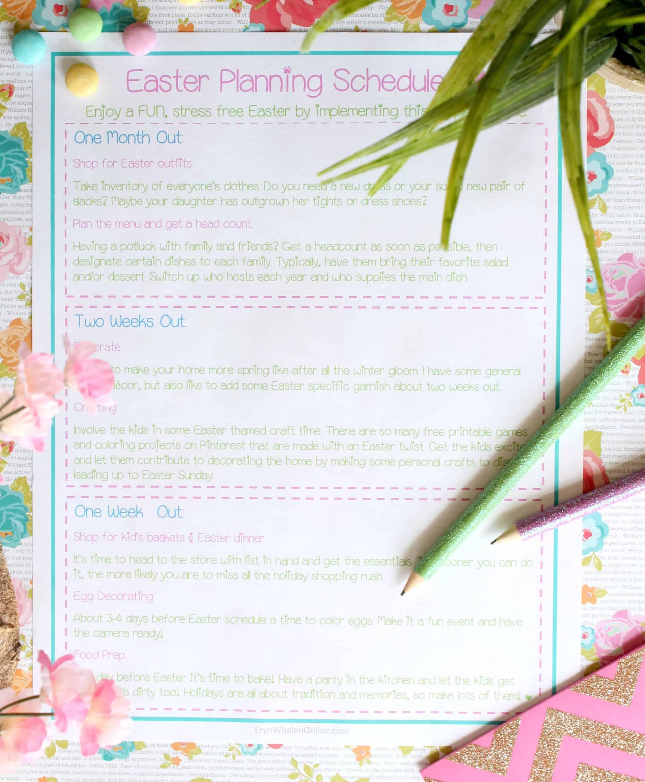 Easter, spring, free printable, easter printable