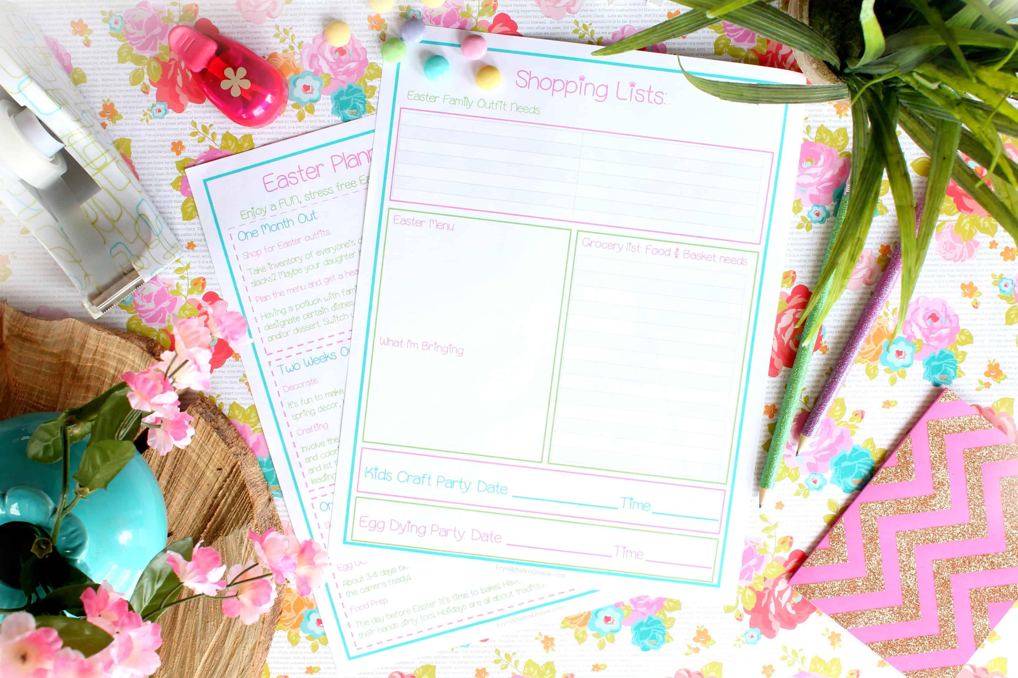 FREE Printable, spring printable, Easter printable