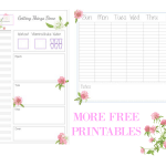 My Planner System. How I organize my life with kids + FREE printables
