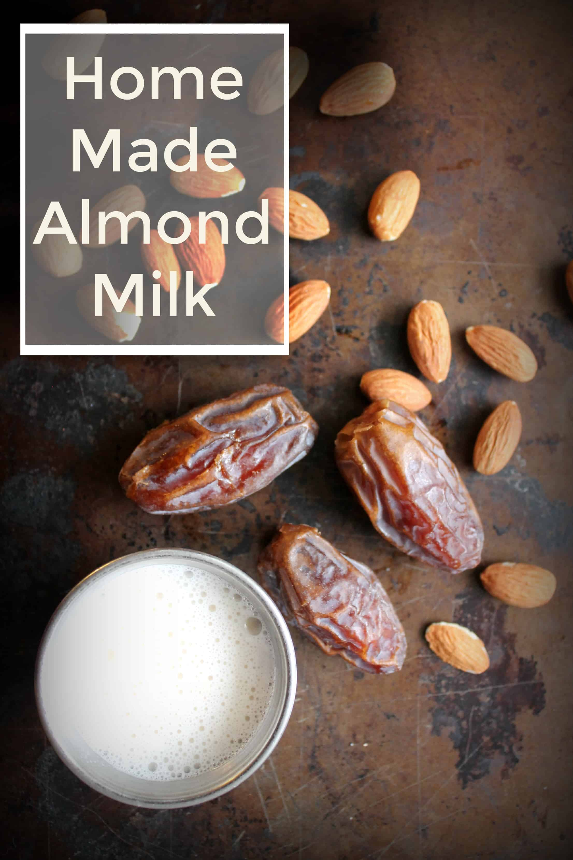 almond milk, nut milk