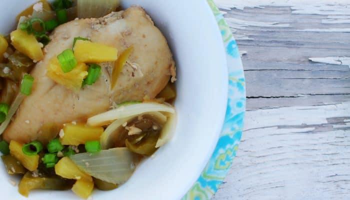 Reduced Sodium Teriyaki Pineapple Chicken