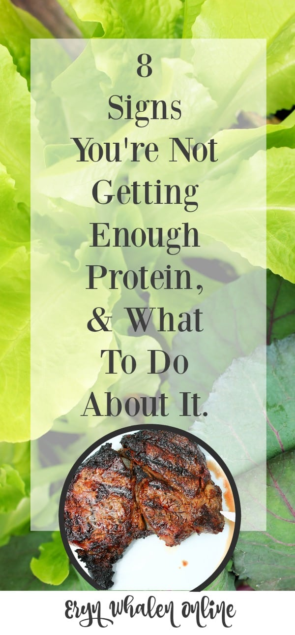 protein, protein problems, lack of protein, weight loss, lose weight, mom