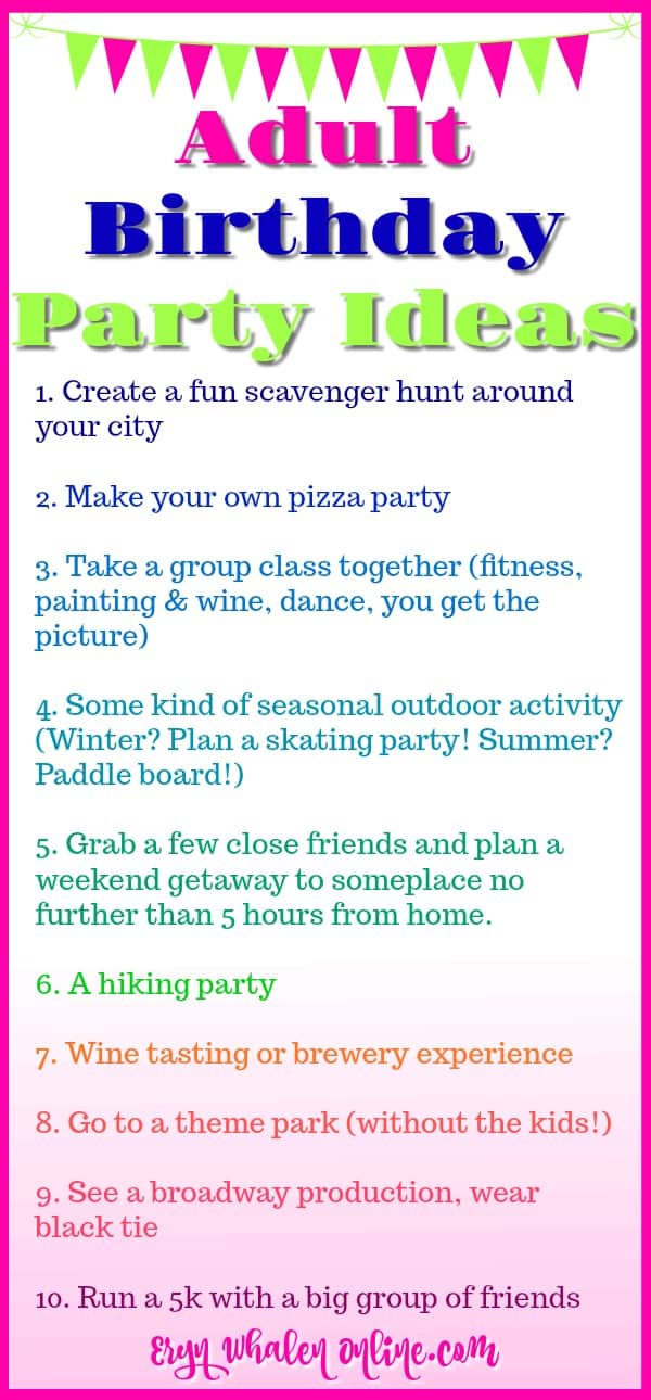 89 birthday party games for adults printable over the for Birthday games ideas for adults