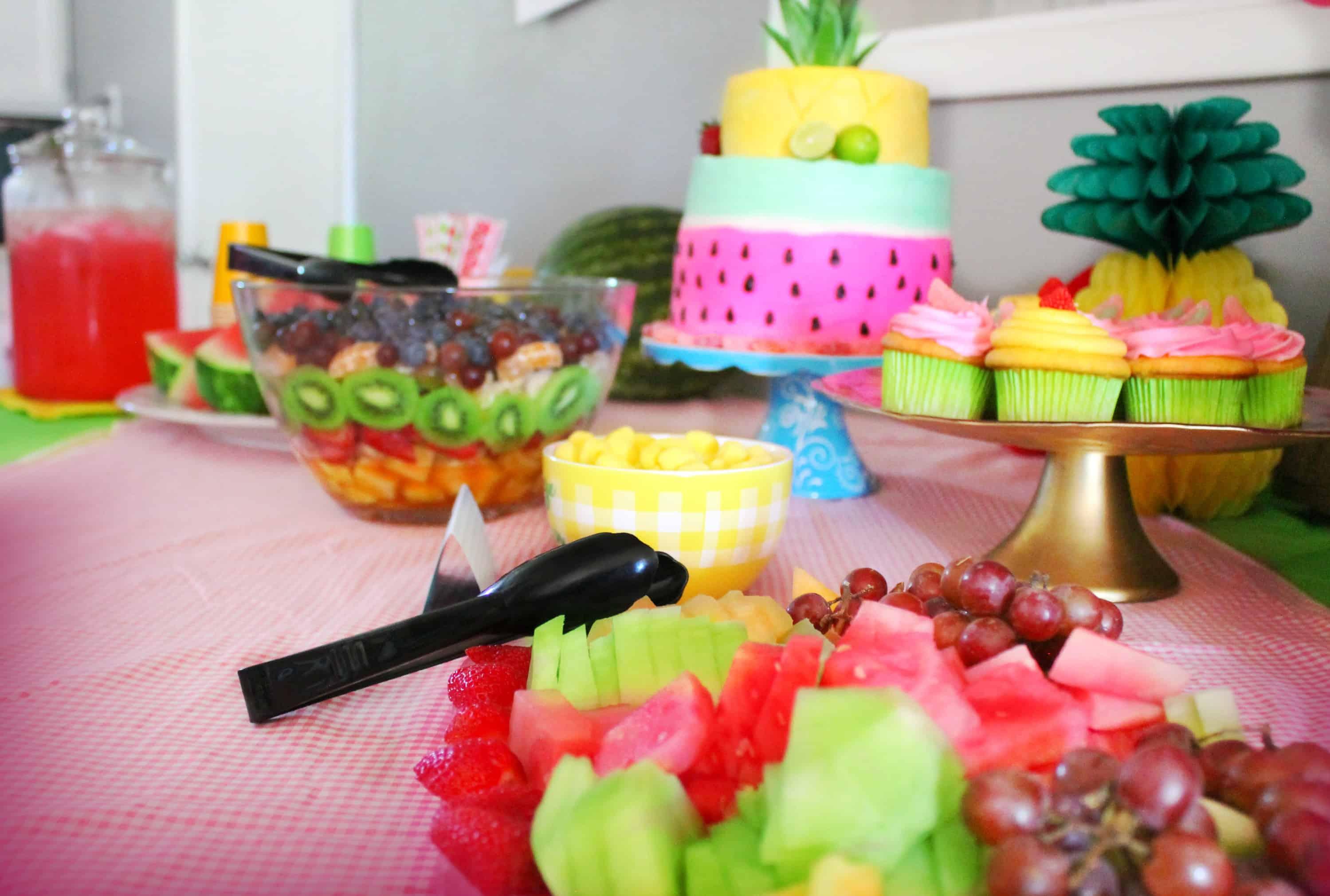 A Two Tti Fruity Birthday Party Eryn Whalen