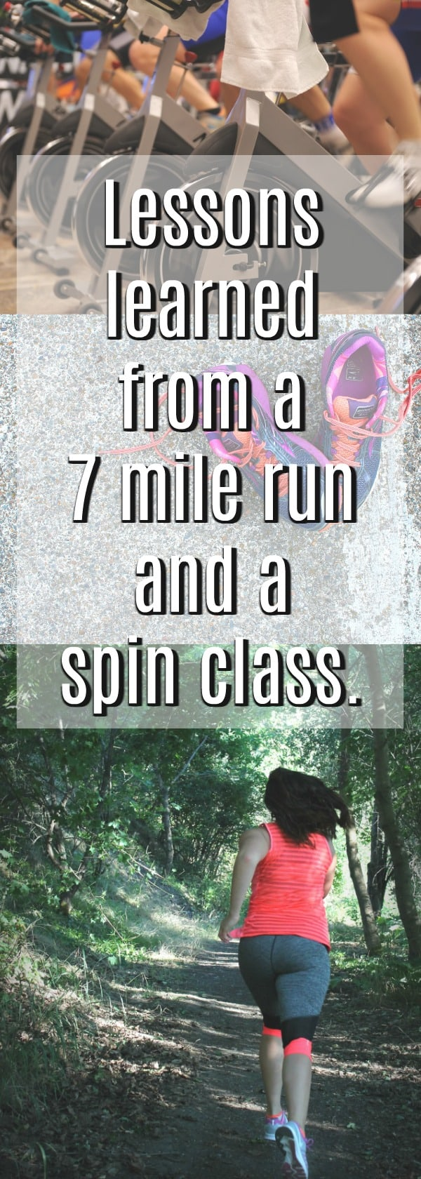 running, marathon training, half marathon, runner, woman running, how to start running, seven mile run, how to run seven miles, lessons from running, running lessons, spin class, the union spokane, spokane spin classes, spin class basics,