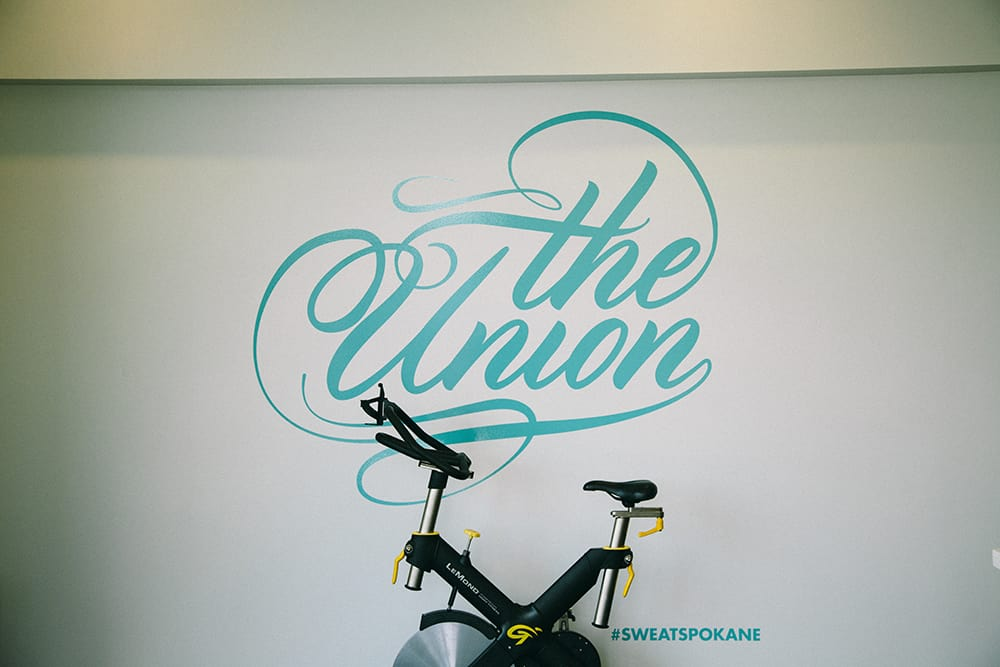 The Union, spin class,