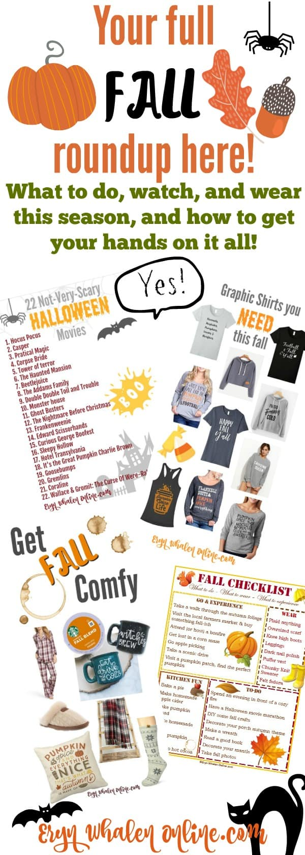 Fall, fall printables, graphic shirts, graphic fall shirts, fall fashion, fall clothes, coffee, coffee mugs, autumn, fall checklist, fall things to do, fall roundup, fall fun