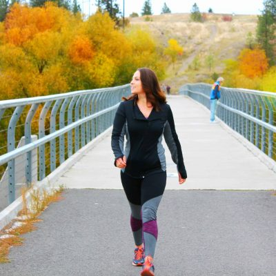 Staying Active in the Fall with Ellie Activewear