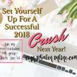 December Sieres: Set Yourself Up For A Successful 2018