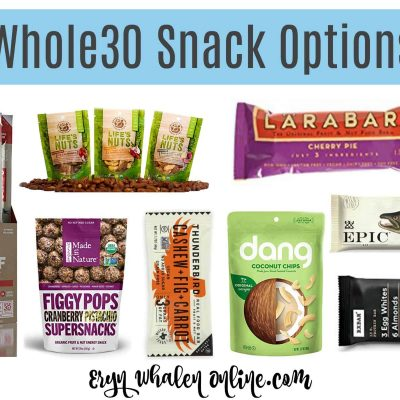 Whole30 snack ideas for the busy life