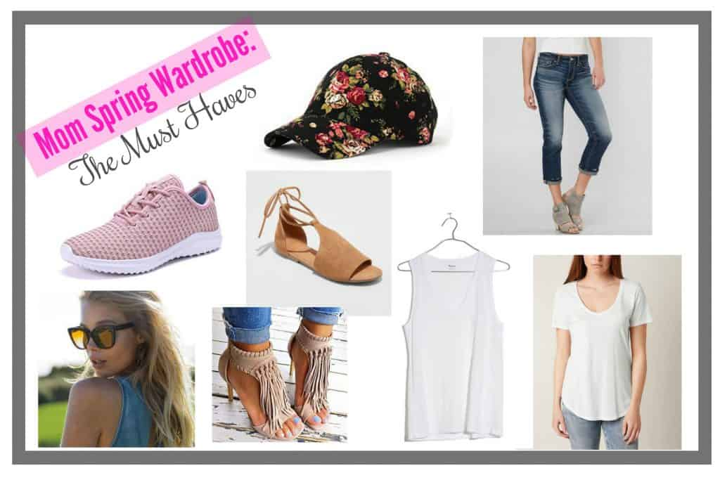 Mom Spring Wardrobe: The Must Haves