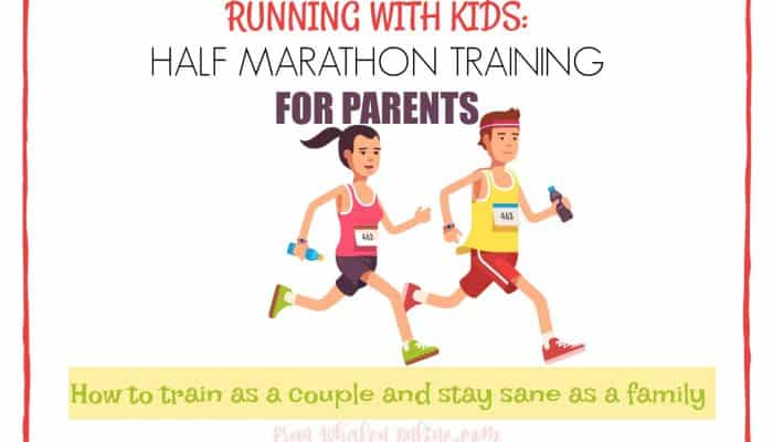 Running with kids: Half-marathon training for parents
