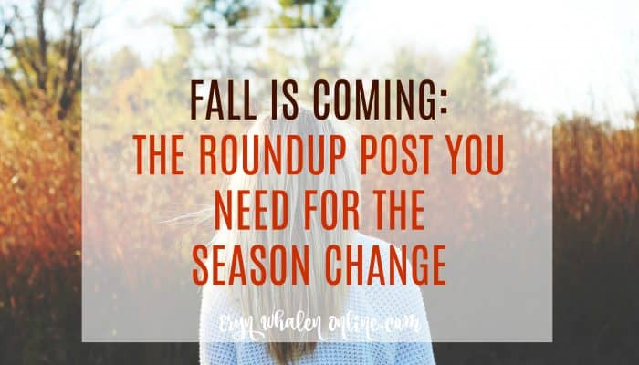Fall roundup post