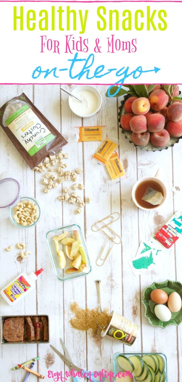 FALL edition: snacking on-the-go for mom & kids (even dad!)