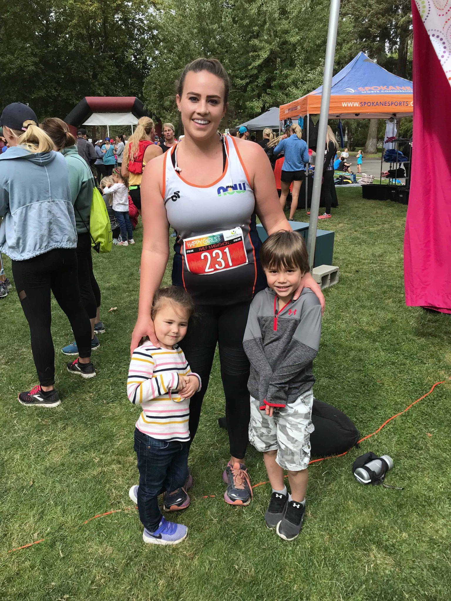 Happy Girl Run 2018 half marathon recap & recovery