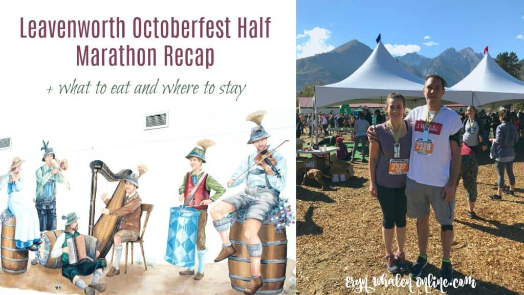 Leavenworth Octoberfest Half Marathon 2018