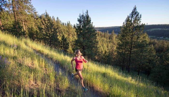 10 best places to run in Spokane: Noelle Lovoi