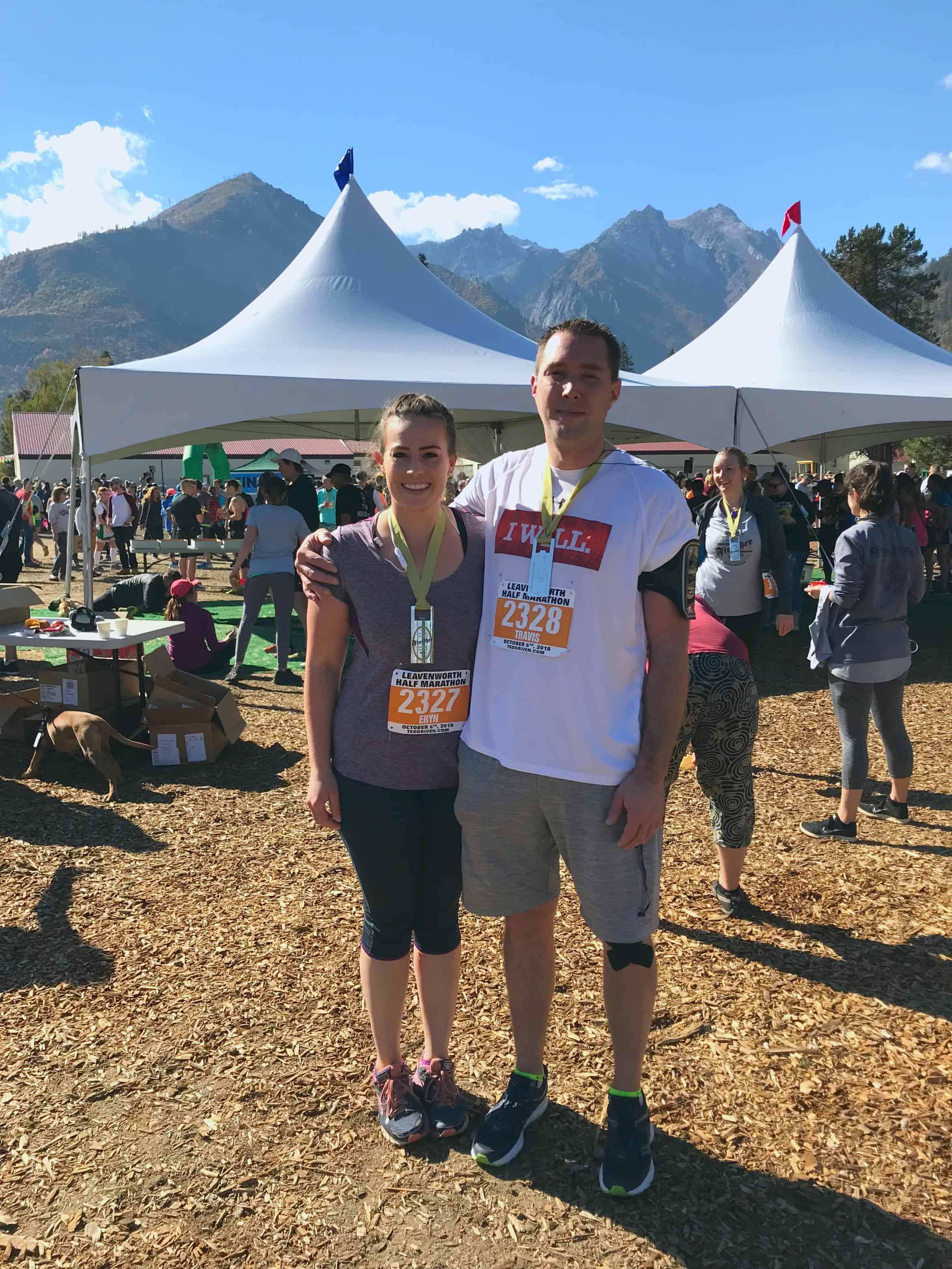 Leavenworth Octoberfest Half Marathon 2018