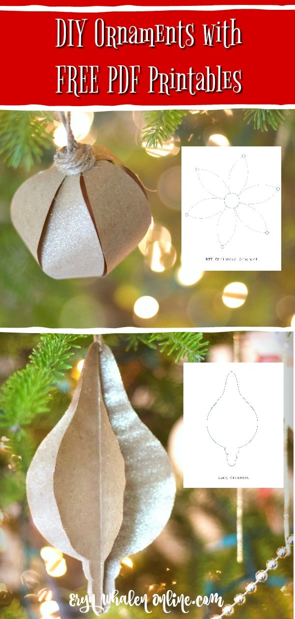 DIY ornaments, ornaments, make your own ornaments, diy Christmas