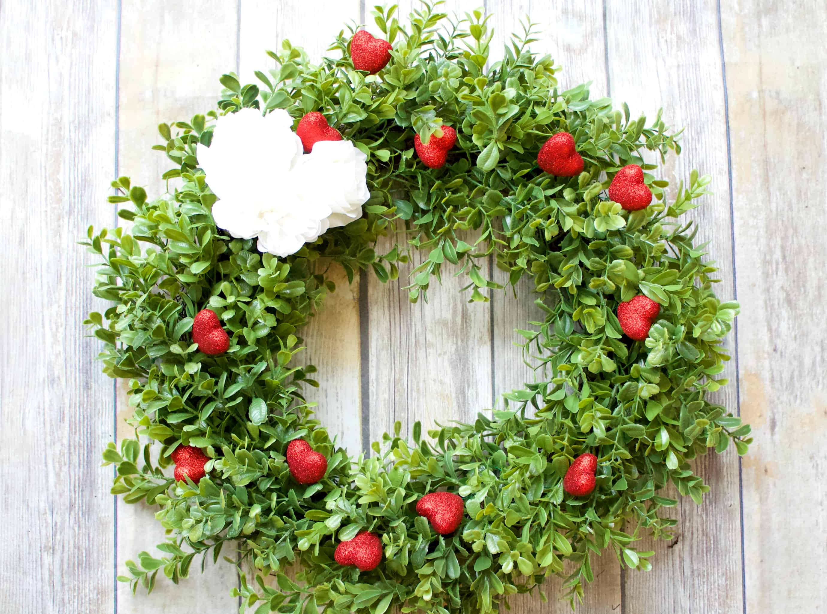 Valentines Wreath DIY