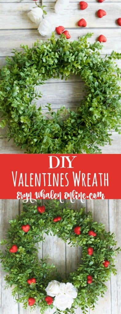 Valentines Wreath DIY, valentines, valentines day, wreaths, porch decor, valentines porch,