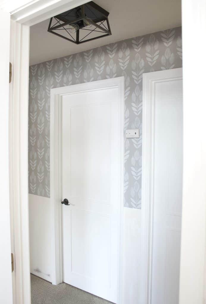 wallpaper hallway project