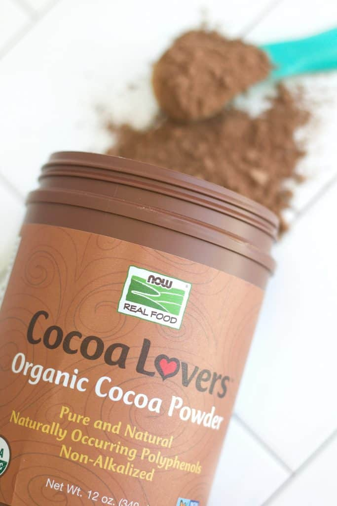 NOW Foods Cocoa Lovers Organic Cocoa Powder