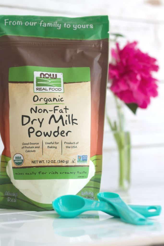 NOW Foods Organic Non-fat dry milk powder