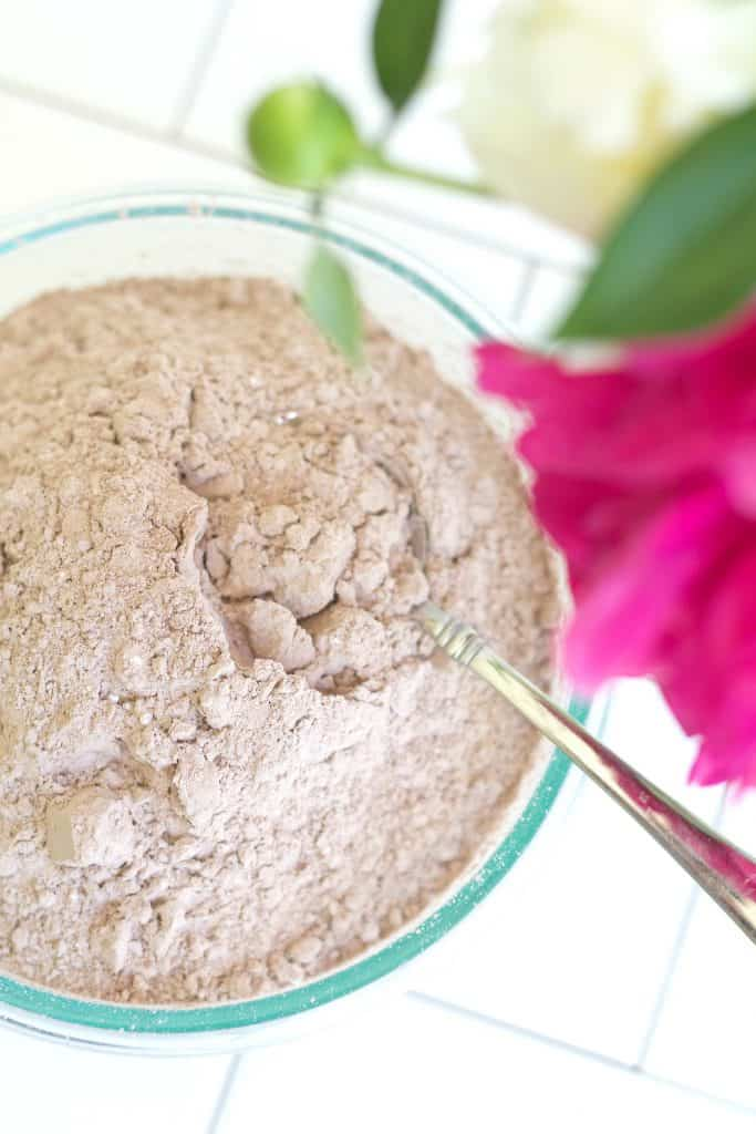 Home Made Instant Hot Cocoa Mix made with clean, organic ingredients.