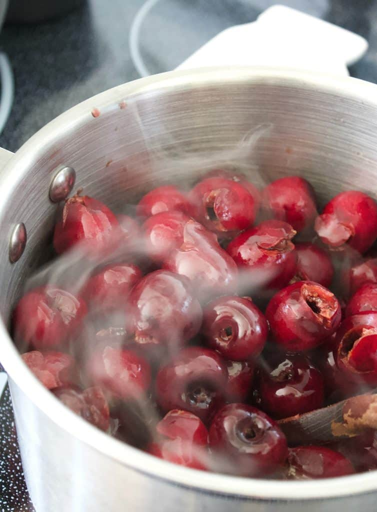 Traditional cherry pie filling canning recipe
