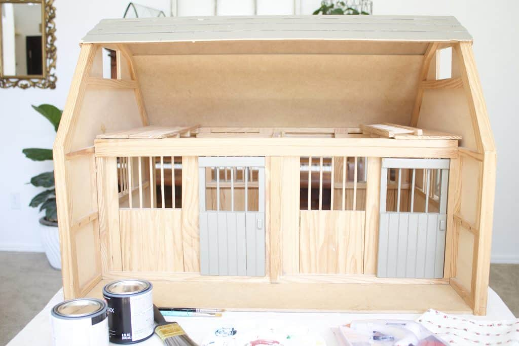 How To Diy Your Mini Horse Barn Full Tutorial Plus Before And After Photos