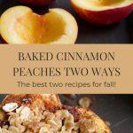 cinnamon peaches recipe