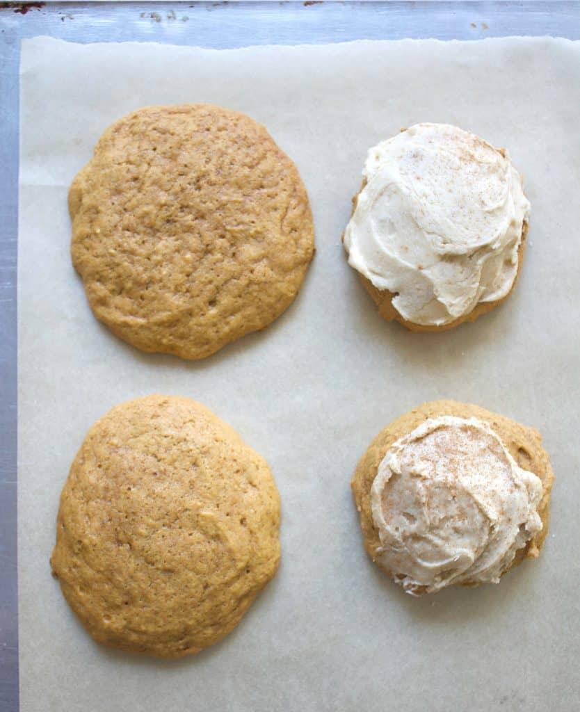 Flat cookies vs regular ones