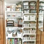 Kids craft closet makeover