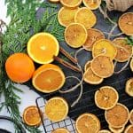 Orange Garland and Ornament How-To