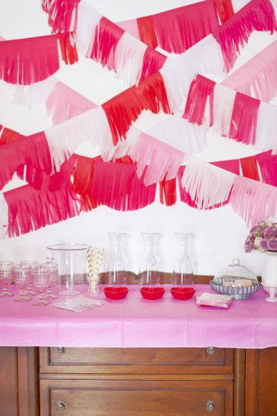 How to Make a Tissue Paper Tassel Garland