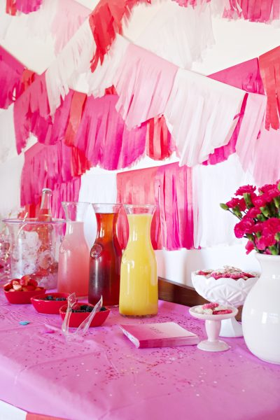 Valentine's Mimosa Bar Plus a Full List of Must Have Ingredients