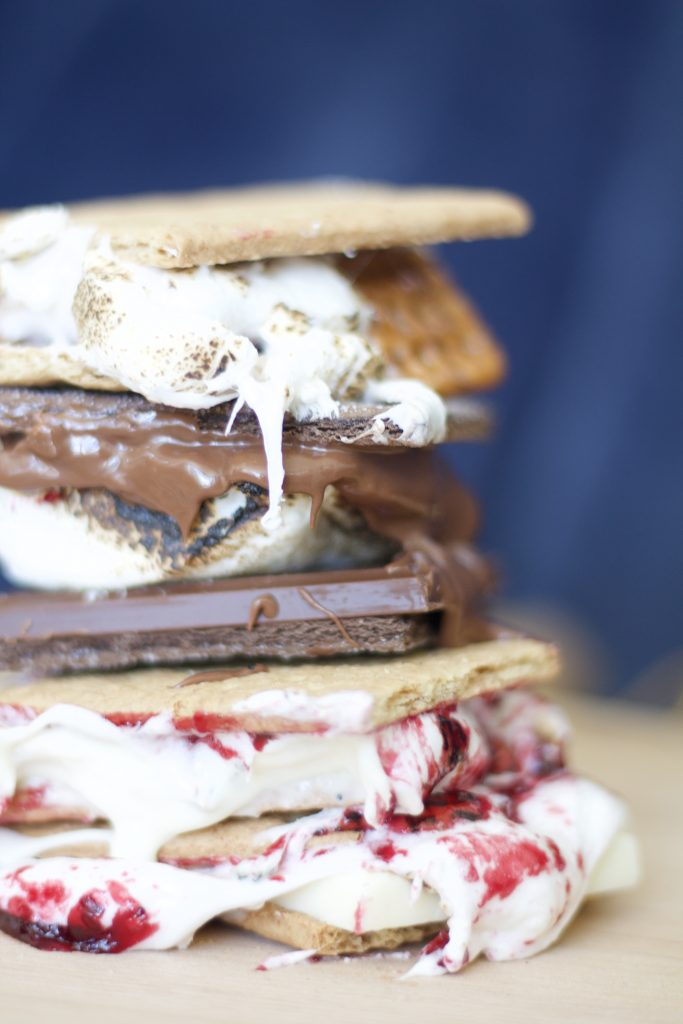 Traditional s'mores are about perfect. However, over the last few years there's been a trend to  switch things up. These are called gourmet s'mores.
