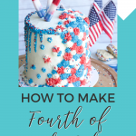 how to make Fourth of July cake