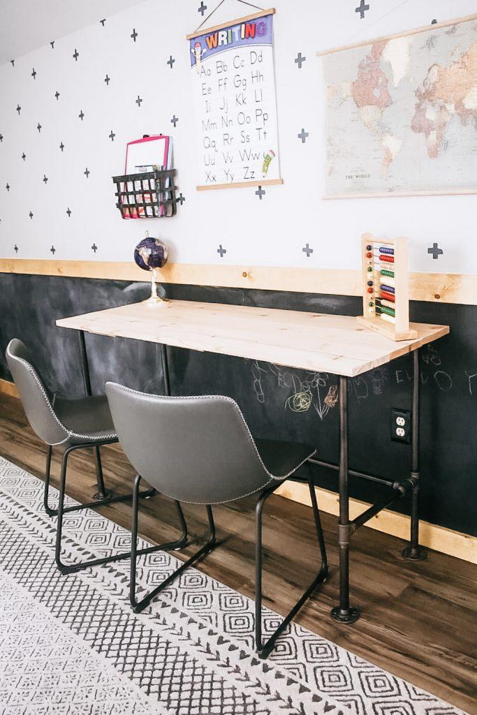 How to Build a Homeschool Desk
