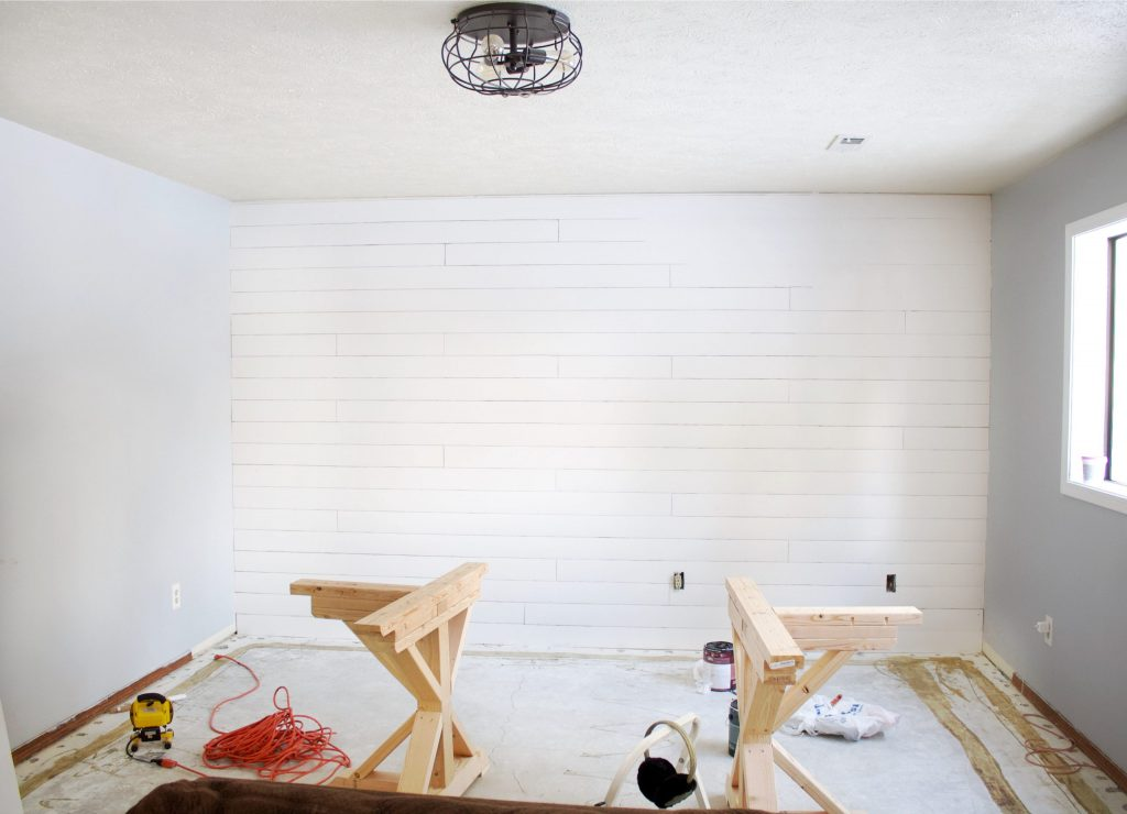 How to Paint Shiplap | All Your Questions Answered