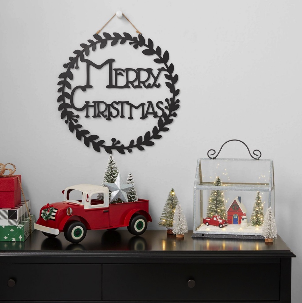 Target Christmas 2020 is coming in hot. Grab this great, budget friendly decor while it lasts. And friends, I don't think it will last long! #targetchristmas #christmasdecor