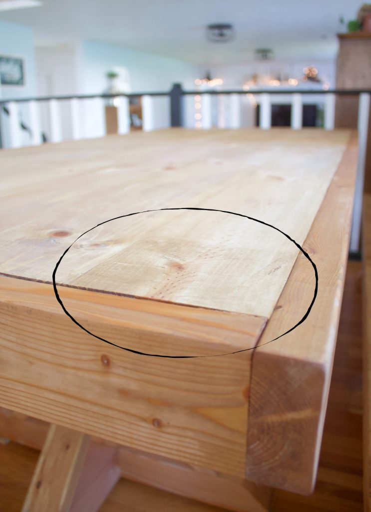 Staining and sealing a table doesn't have to be overwhelming. Follow this staining furniture how to for a beautiful piece of furniture.