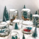 How To Make A Snow Globe | Easy Dry Snow Globes