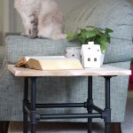 Industrial Pipe End Table   How To Assemble For A Perfect Statement Piece
