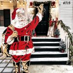 Paint Santa | A larger Than Life Paint By Numbers Santa Cutout