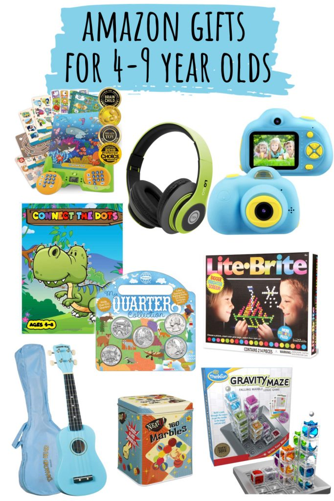 Fun, learning and creative gifts for young children ages 4 - 9 from Amazon.