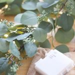 Quality Faux Eucalyptus Garland and Juniper Lights