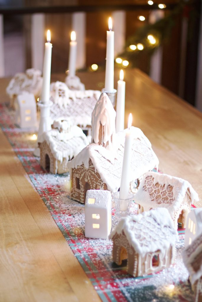 This gingerbread house recipe is perfect for you next project! And if you need ideas, this gingerbread tablescape is the perfect centerpiece.